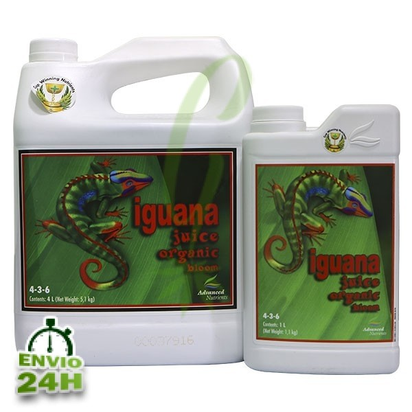 Iguana Juice Organic Bloom 10 L  ()