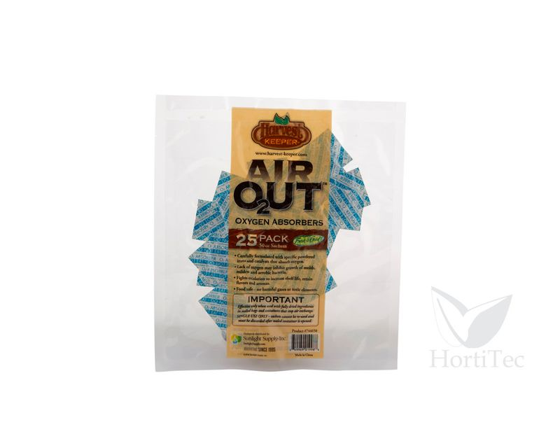 AIR OUT OXYGEN ABSORBER 500 CC (25 U) HARVEST KEEPER   ()