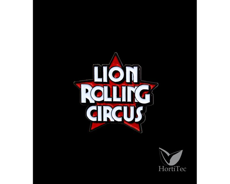 PIN RUBY LION ROLLING CIRCUS   ()