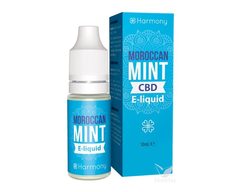 E-LIQUID MOROCCAN MINT CBD 600mg  ()