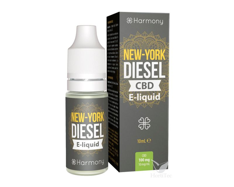 EXTRACTOS E-LIQUID NYC DIESEL CBD mg: 300  ()