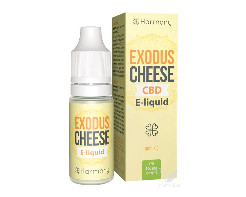 EXTRACTO E-LIQUID EXODUS CHEESE CBD mg: 100  ()