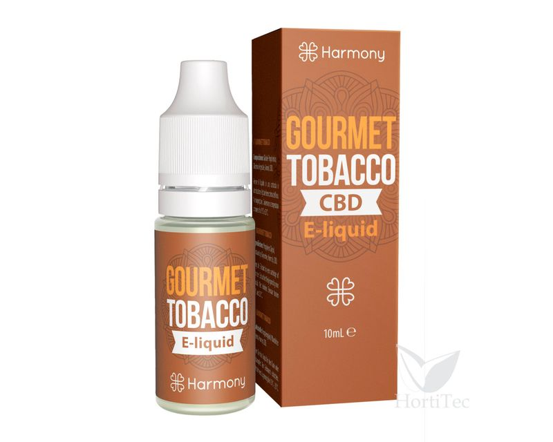 E-LIQUID GOURMET TOBACCO (100 MG CBD) 10 ML HARMONY CBD mg: 100  ()