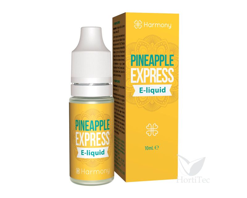 E-LIQUID PINEAPPLE EXPESS (SIN CBD) 10 ML HARMONY CBD mg: 0  ()