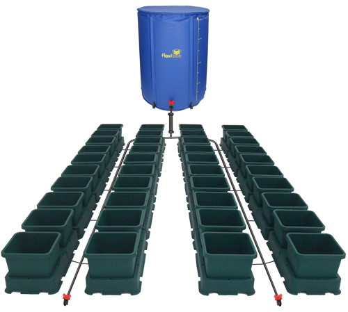 Sistema Easy2grow 40 macetas y tanque 400 L.