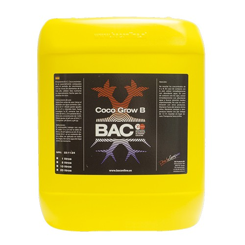 Coco Grow B   (10 Litros) BAC