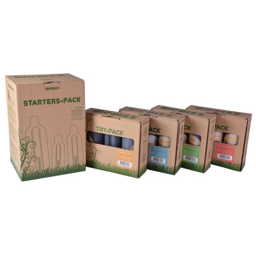 Trypack Outdoor Fertilizante (3 x 250ml) BIOBIZZ