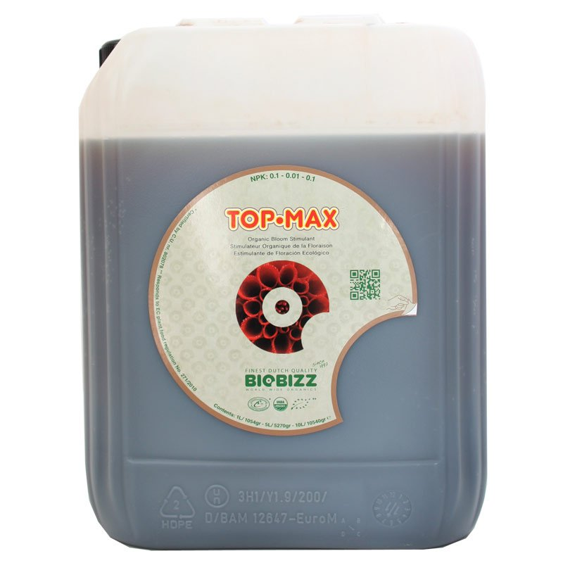 Top Max Fertilizante (10 Litros) BIOBIZZ