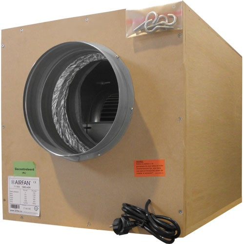 Extractor Soft Box (7000 m3-boca 315) incluye coronas  () SOFTBOXMOF