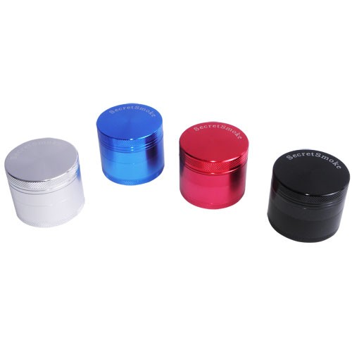 "Grinder Secret Smoke Ř partes"" 50mm Colores"