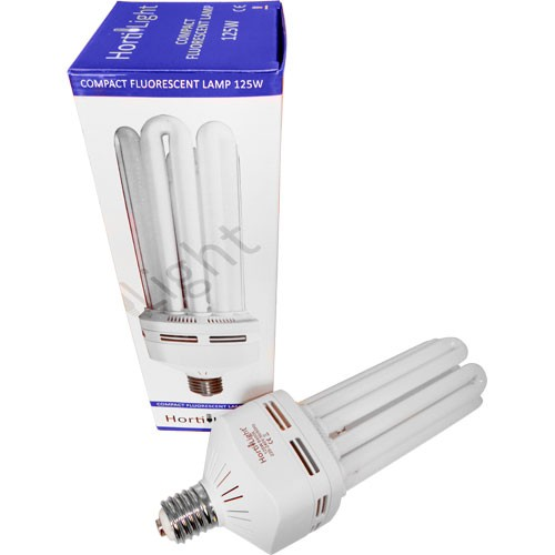 Fluorescente Compacto Hortilight 125 W Floracion  () HORTILIGHT