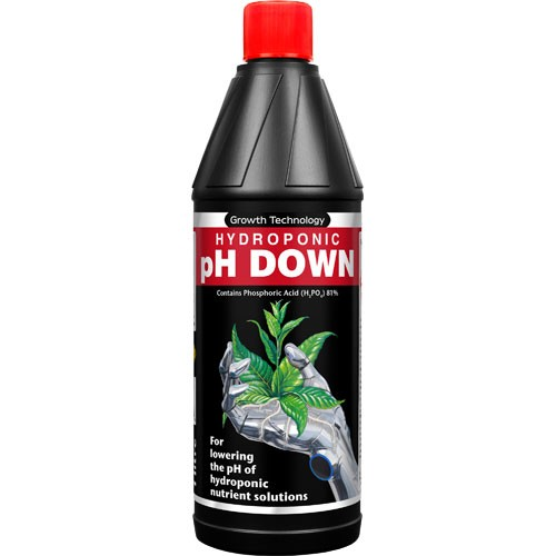 Ph Down 1 L  (1 Litro) GROWTHTECHNOLOGY
