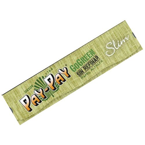 Papel Pay-Pay GoGreen Slim 110mm Verde 1 uds/caja   ()