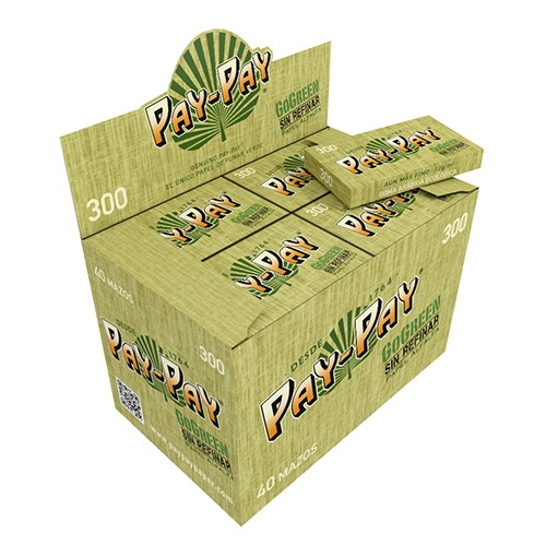Papel Pay-Pay GoGreen 300 1.1/4 40 uds./caja   ()