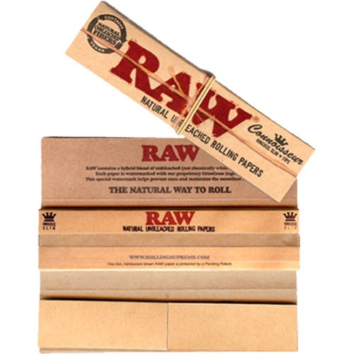RAW Connoiseur King  Size Slim   ()