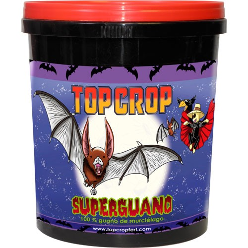 Superguano 1 kg (100% guano murciélago) Top Crop